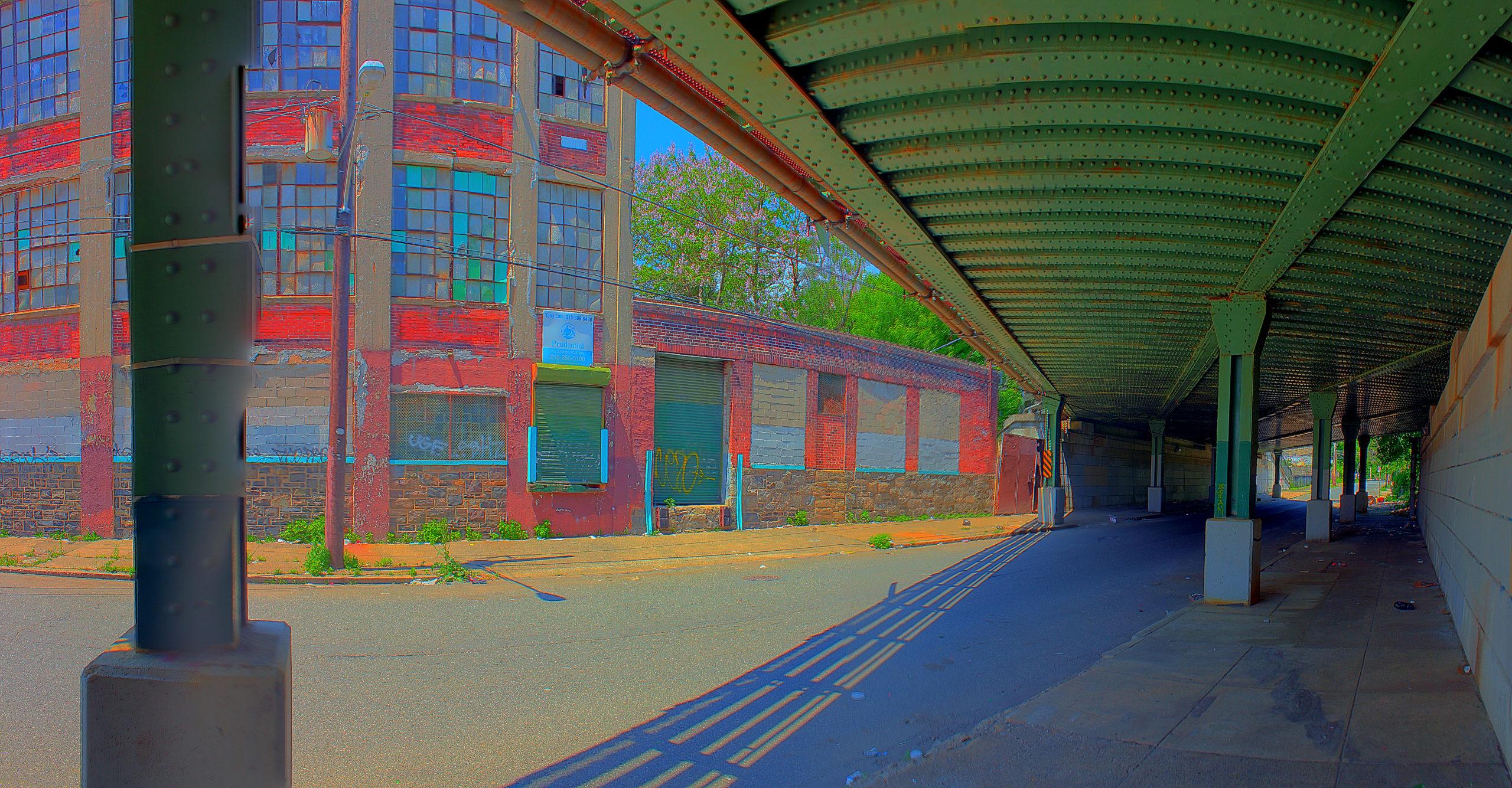 Reading Railroad Bridge 3306 N 19th Street Philadelphia, PA Copyright 2019, Bob Bruhin. All rights reserved.